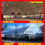 Pavillon blanc de 2018 Polygone tente de renom pour un produit neuf places Show 1000 personnes Guest