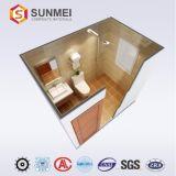 Salle de Bain Préfabriquées, cabine de douche WC Salle de bains Professionl fait d'aluminium panneau alvéolé avec Med Certification SGS