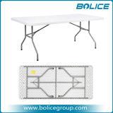 Rectángulo 6.6FT mesa de plástico con 1PC Top