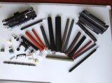 As peças da impressora a laser