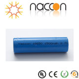 Li-ionen Batterij 18650 de Batterij van het Lithium 2000mAh