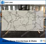 Conçu pour la cuisine de pierre de quartz comptoir avec les normes de SGS (Calacatta)