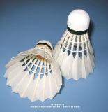 De Shuttles van het Badminton van de Veer van de gans/van de Eend met 3 Cork van het Houten Lagen Hoofd