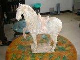Antigüedades chinas--caballo de piedra