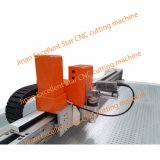 Ausgezeichnete Stern-Schwingung CNC-Messer-Scherblock-Maschine für Gewebe 1214