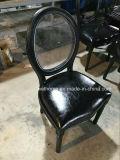 Schwarze Schlußfarbehölzerner Louis-Stuhl für Partei/Hochzeit
