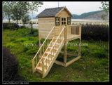Maison de théâtre en bois d'enfants