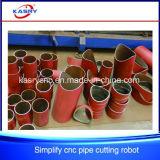 Плазма /Flame CNC трубы/пробки утюга режа машину отверстия Drilling
