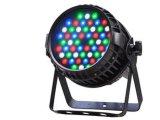 O watt ao ar livre RGBW da PARIDADE 54*3 do diodo emissor de luz Waterproof a luz com função do zoom do foco