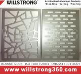 Алюминиевые панели шторки на стену