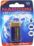 Bateria preliminar não recarregável alcalina de bateria 9V 6lr61