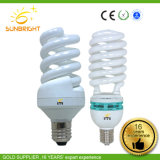 공장 가격은 가벼운 E14 E27 11W U 자 모양 나선형 꽃 로터스 LED 에너지 절약 램프를 저장한다