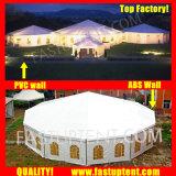 祝祭の直径12mのための2018巨大な透過マルチ側面のテント200人のSeaterのゲスト