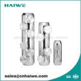 La aleación de aluminio 4 tornillos de cabeza de cizalla mecánica dividir el conector