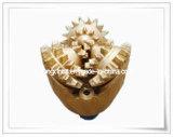 Los bits de rodillos de acero de carburo de tungsteno de diente Tricone poco