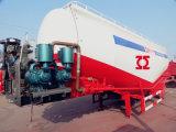 Tanque de transportadores de cimento a granel semi reboque