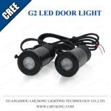 Tür-Licht des CREE 12V Chip-Auto-Firmenzeichen-Geist-Schatten-G2 LED