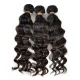 Capelli umani cinesi di vendita calda 2017 3 gruppi dell'onda di estensione profonda dei capelli umani