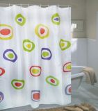 100% Polyester Printing Shower Curtain - 4