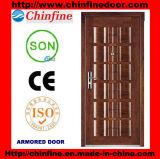 Portes blindées en acier-bois de style nouveau (CF-U013)