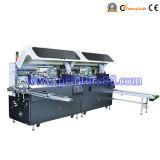 Zwei Farben-automatische Bildschirm-Drucken-Maschine