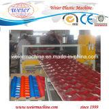 PVC Ligne de production de tuiles du toit vitré