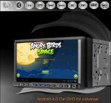 """Androider Spieler des OS-Auto-DVD GPS mit 7 """" Diagramm der Noten-Screen+Free 3D (RTDA720)"""