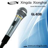 Micrófono dinámico atado con alambre (GL-838)