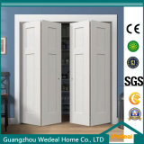 Alta calidad moderna plegable puerta del armario para el Proyecto