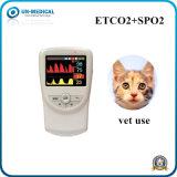 Ordinateur de poche à usage vétérinaire portable Etco2&Moniteur de SpO2 pour l'EFP d'équipement médical