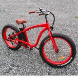 26inch fetter Schnee-elektrisches Fahrrad des Gummireifen-500W