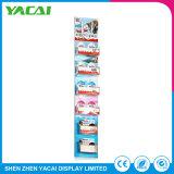 Piso de segurança de papel para produtos de varejo Rack de exibição