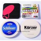 Coasters de bière à bas prix OEM, tapis de tapis de papier absorbant promotionnel