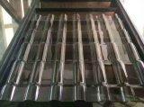 Polycarbonaat 100% Maagdelijk Materialen GolfBlad Gekleurd van de Bescherming van het Dak van de Bouw Bayer Materieel UV PC- Blad 840mm 930mm 1050mm