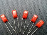 금속을 입힌 폴리에스테르 막 축전기 (소형 레이디얼 5mm) (EF5)