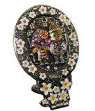Компактный наружного зеркала заднего вида с помощью рукоятки