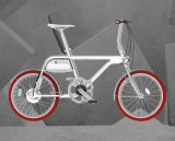 Vélo électrique rouge de Bazzar d'ion de Tsinova/système de 36V/250With Veloup