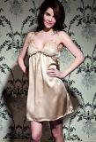 Maulbeere-Seide-Partei-Kleid 100%