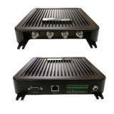 Un alto rendimiento Impinj R2000 Chip RFID de largo alcance lector UHF Canal fija de 4