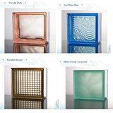 중국 색깔 ISO9001&CE를 가진 유리제 막 유리 벽돌 공급자