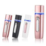 2600mAh mini banco portable con la humedad facial rociador de la niebla