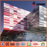Смешивание цвета красивейшей конструкции множественное украшая алюминиевый материал Compiste