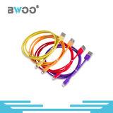 Tipo-c micro cable del relámpago del teléfono móvil de la célula de datos de carga del USB