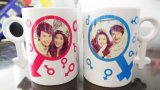 11oz Full Color Photo Canecas, Sublimation Mugs