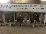 商業ステンレス鋼は2つの平らな鍋アイスクリーム機械を揚げた