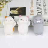 Kawaii異なった動物が付いている小型伸縮性があるシリコーンの圧搾のSquishyおもちゃ