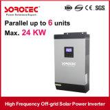 4kVA 48VDCの50A PWMの太陽充電器6PCSの平行の純粋な正弦波大きい力インバーター