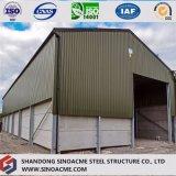 Sinoacmeは門脈フレームの鉄骨構造の建物を組立て式に作った