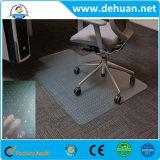 Prix de tapis de sol en PVC, tapis de fauteuil en PVC avec ongle pour bureau