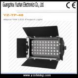 DMX512 LED 단계 점화 72pcsx3w RGBW는 LED 동위 빛을 방수 처리한다
